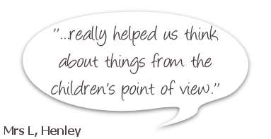 CSM Family Mediation feedback, stating: really helped us think about things form the children's point of view